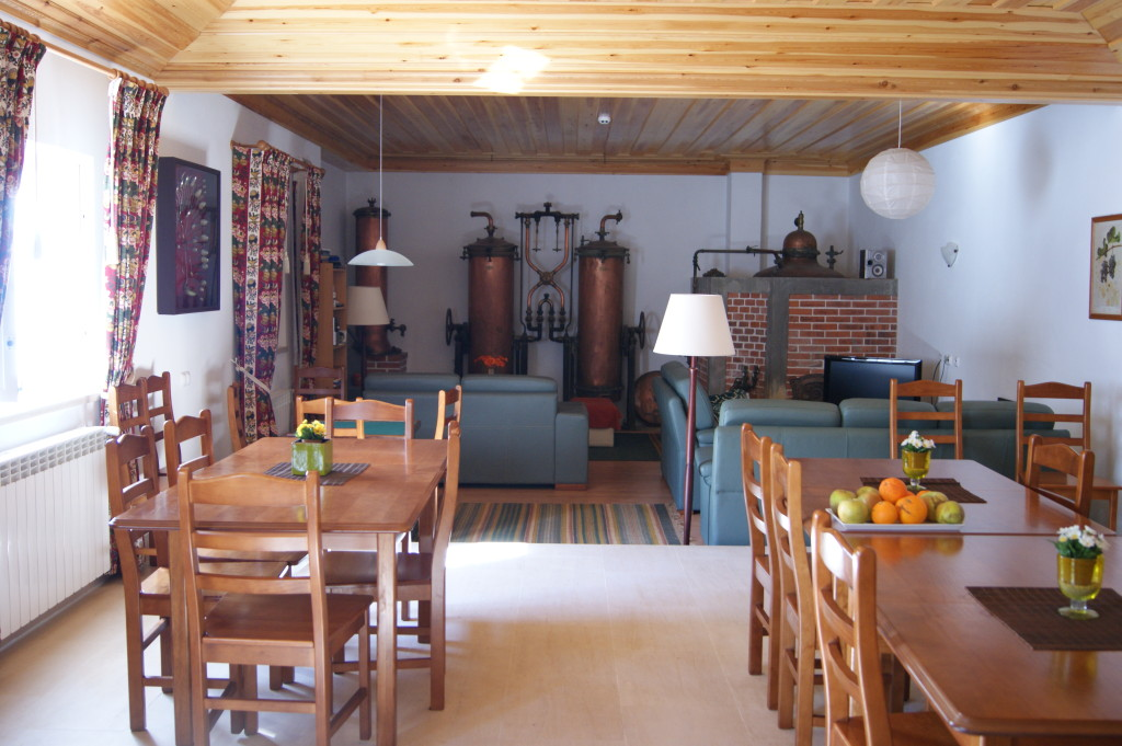 Bed and Breakfast Inn on an Organic Farm is one of the lodging options of the Bonafide Portugal Tour