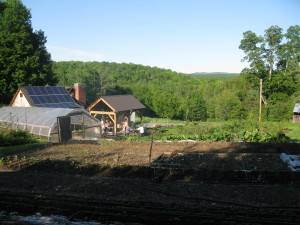View of Field Stone Farm and beyond.