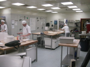 Glimpse of New England Culinary Institute Bakery and Students at La Brioche Bakery